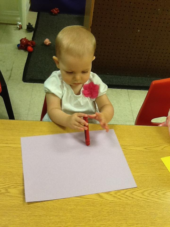 Honey Tree Toddler Crayon