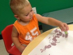Honey Tree Toddler Painting